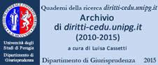 Quaderno n.1 Archivio di diritti-cedu.unipg.it (2010-2015)