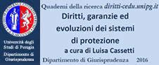 Quaderno n.2 Diritti, garanzie ed evoluzioni dei sistemi di protezione